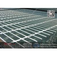 Buy cheap Galvanised Steel Bar Grating | 40X5mm Bearing Bar | 40X100mm mesh hole from wholesalers