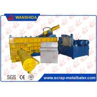Customized PLC Control Hydraulic Metal Baler Machine Round Packing Block Or Square Bale