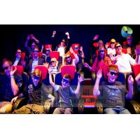 Buy cheap Fantastic 7D Cinema System With Adventure Movies , Flexible Motion Chairs product