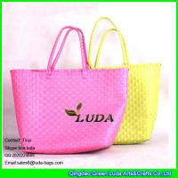 Buy cheap LUDA pp tote bag books on tote bag wholesale pp strap straw beach bag from wholesalers