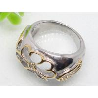 Buy cheap Hollow Out Stainless Steel Gothic Ring 1120482 from wholesalers