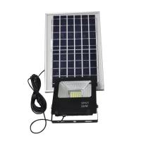 Buy cheap IP65 20W Solar Powered Backyard Lights Motion Sensor ABS Material 160LM Lux from wholesalers