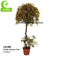 Buy cheap Natural Look 160cm Artificial Ficus Tree For Garden Decoration from wholesalers