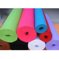 Buy cheap Green Needle Punched Non Woven Rolls Non Woven Cleaning Cloths from wholesalers