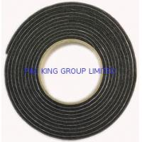Buy cheap 3, 4, 5, 6mm Two sided black self adhesive tape with PVC PU EPDM foam for die cut from wholesalers