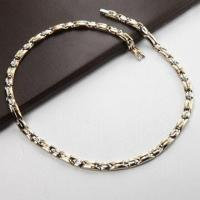 Buy cheap Stainless Steel Necklace with Magnet, Negative-ion and Germanium/Bio Health Titanium Necklace product