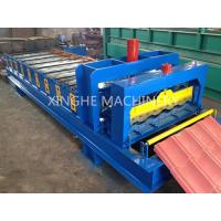 Buy cheap Automatic Glazed Tile Roll Forming Machine With 2.5 Ton Capacity Decoiler from wholesalers