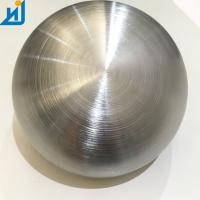 Buy cheap Mirror Polished Hairline Polished Hollow Steel Ball Stainless Steel Spheres 15CM 20CM from wholesalers