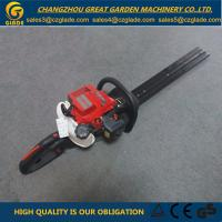 Buy cheap TJ23V Double Blade Grass Hedge Trimmer Gasoline Engine Garden Tools For Tree Cutting from wholesalers