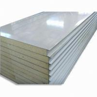 Polyurethane heat insulation roof panel quality for Sips panels for sale