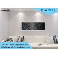 Buy cheap Modern Self Adhesive Vinyl Wallpaper Soundproof For Interior Decoration , 0.53*10m/ Roll from wholesalers