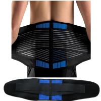 Buy cheap Neoprene Double Pull orthopedic lumbar back support belt factory price from wholesalers