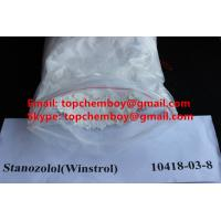 Buy cheap CAS 10418 03 8 Stanozolol Powder , Winstrol Anabolic Steroids For Fitness Exercise from wholesalers