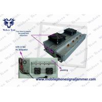 Buy cheap Four Bands Mobile Phone Signal Jammer 100m Shielding Range High Integration product