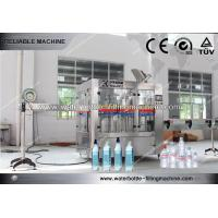 Buy cheap Automated Carbonated Tea Water Bottle Filling Machine / Equipment SS304 Material from wholesalers