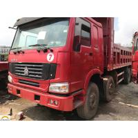 Buy cheap Sinotruk HOWO 8X4 Second Hand Dumper Truck 25 Cubic Meters 336 Horsepower from wholesalers