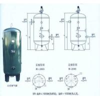 Buy cheap Steel Air Compressor Tank Vertical Type , Small Portable Compressed Air Tank from wholesalers