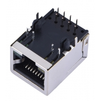 Buy cheap Double Layer Female 8P8C RJ11 RJ45 Connector With USB product