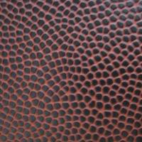 Buy cheap PVC Ball Leather, 0.7 to 1.4mm, Anti-UV, Waterproof from wholesalers