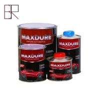Buy cheap Black 2K Acrylic Resin Auto Coating Repair Paint ISO9001 from wholesalers