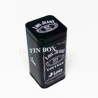 Buy cheap 67mm Metal Spice Tins Square Storage Boxes Airtighted Inner Lid Metal Tin Box from wholesalers