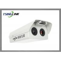 Buy cheap Resolution 1080P Infrared Thermal IP Camera Face Recognition Bullet Intelligent Detection product