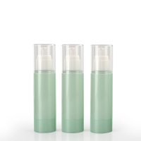 Buy cheap Green Cosmetic PET Empty Packaging Plastic Lotion Bottles product