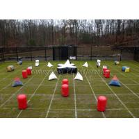 Buy cheap Outdoors Inflatable Paintball Bunker Field  For Adults from wholesalers