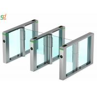 Buy cheap Servo Motor Rfid Barrier Turnstile Access Control System Acrylic Arm from wholesalers