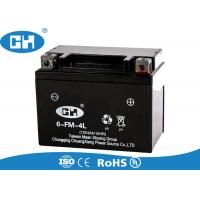 Buy cheap Custom Deep Cycle Motorcycle Battery , Durable 12v Agm Motorcycle Battery from wholesalers