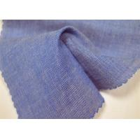 Buy cheap Plain Weave Cotton Yarn Dyed Fabric Custom Made Color For Travel Bags from wholesalers