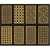 Buy cheap Customized Carved MDF DIY Room Divider Panels For Interior / Meeting Room from wholesalers