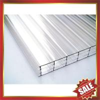 Buy cheap four layers polycarbonate sheet,multiwall PC sheet,hollow pc panel,pc hollow board,excellent temperature resistance ! from wholesalers