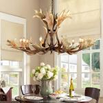 Buy cheap Deer antler hanging pendant light Fixtures indoor home Lighting (WH-AC-14) from wholesalers