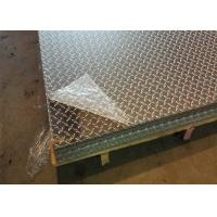 Buy cheap 5052 H32 Aluminum Diamond Plate Thickness Custom For Commercial Vehicles from wholesalers