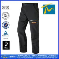 Buy cheap Unisex Fashion Customized functional hiking softshell pants from wholesalers