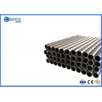 Buy cheap Customized Length Carbon Steel Round Pipe Black A53 Grade B Good Toughness from wholesalers