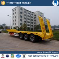 Buy cheap 3 Axle Low Bed Trailer from wholesalers