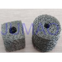 Buy cheap Soft Monel Knitted Mesh Filters Single Strand Wire Double Round With A Fin product