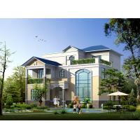 Buy cheap Prefabricated House, Prefabricated Rural Villa With Light Steel Frame from wholesalers