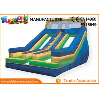Buy cheap Large Inflatable Slip n Slide For Amusement Park / Birthday Party from wholesalers