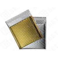 """Silver / Golden Metallic Bubble Envelopes Aluminum Foil Envelopes 12.75""""×10.5"""""""