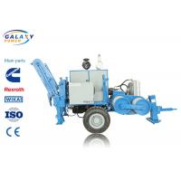 Buy cheap 280KN Stringing Equipment Overhead Transmission Hydraulic 28T Puller 11 Groove from wholesalers