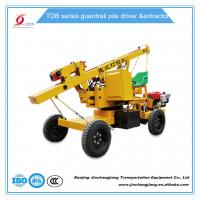 Buy cheap tdb hot sale construction highway hydraulic pile driving machine for guardrail post installation from Wholesalers