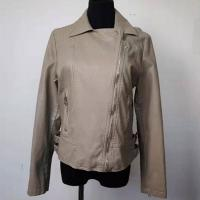 Buy cheap Waterproof Fashion Ladies Jackets PU Leather Made For Spring / Autumn product