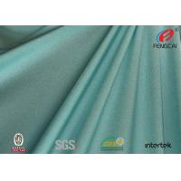 Dry fit and waterproof Weft knitting polyester spandex fabric for swimsuit
