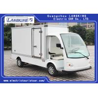 Buy cheap White Electric Delivery Van , 2 Person Golf Cart With MP3 Player Sound System from wholesalers