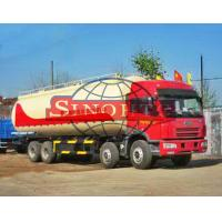 Buy cheap FAW 8x4 Dry Powder Bulk Cement Truck Low-Roof / High-Roof Cabin Type from wholesalers