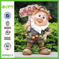 Buy cheap Welcome Sign Garden Gnome Statues from wholesalers