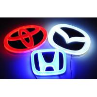 Buy cheap LED Car 4D Badge Lights for Toyota/Hyundai/Mazda from wholesalers
